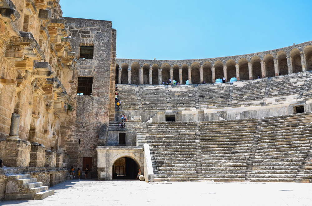 Римский театр, Аспендос