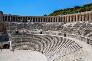 Театр Аспендос, Анталья, Турция