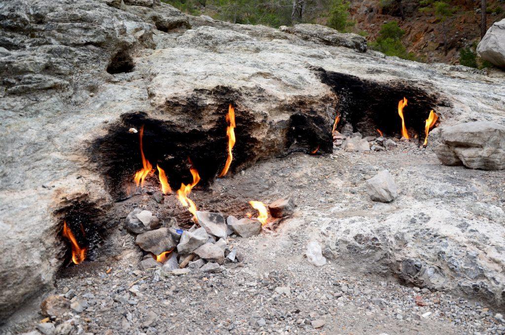 Гора Янарташ, Химера, Анталья