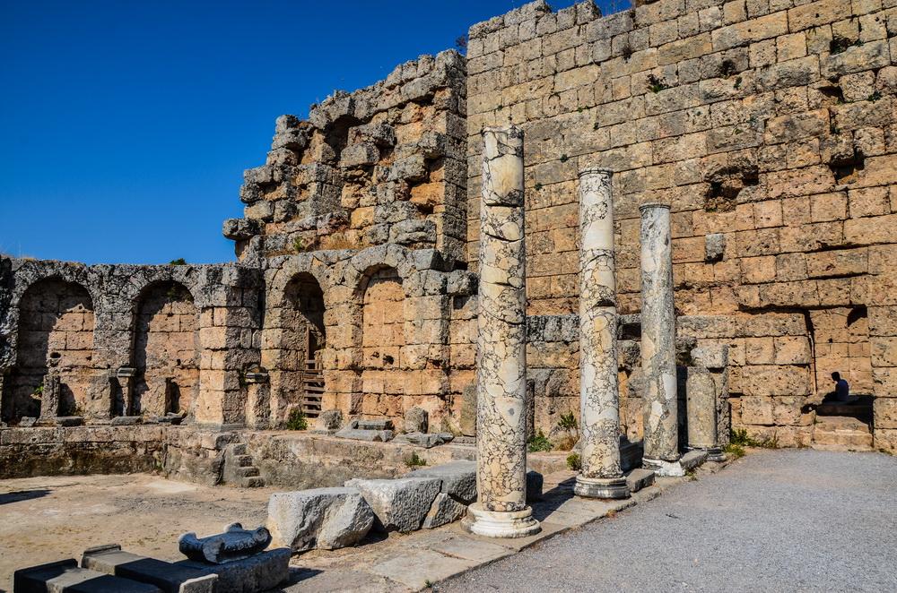 Римские бани, Перге, Анталья