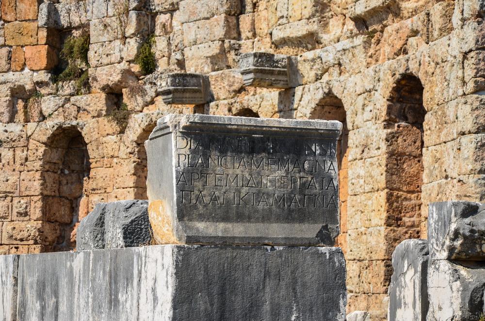 Plancia Magna, Perge Antalya