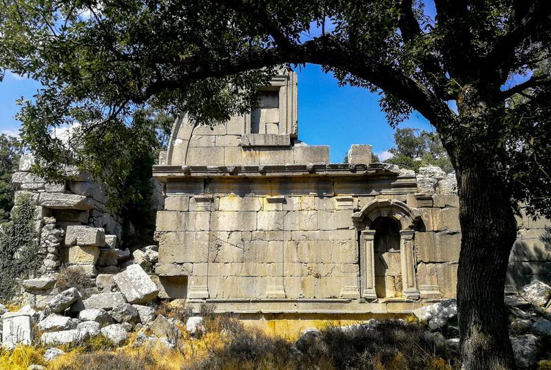 Некрополь Термессос